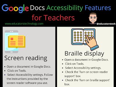 4 Google Docs Accessibility Features Teachers Should Know about