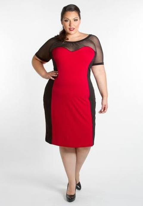 2018 christmas outfits for plus size women  23 party wear