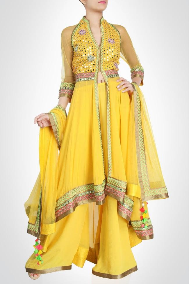 Beautiful-Bridal-Wedding-Lehanga-Choli-Saree-Anarkali-Churidar-New-Fashion-Dress-by-Designer-Surily-Goel-13