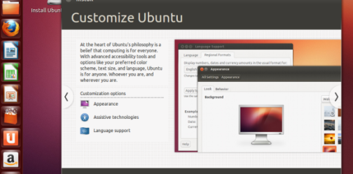 One advantage of Ubuntu Linux is that it supports multiple workspaces.