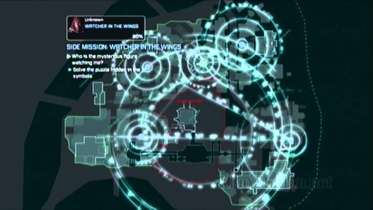Batman Arkham City Side Mission Watcher In The Wings
