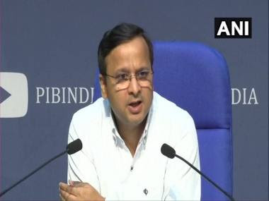 File image of Lav Agarwal, joint secretary in the health ministry. ANI