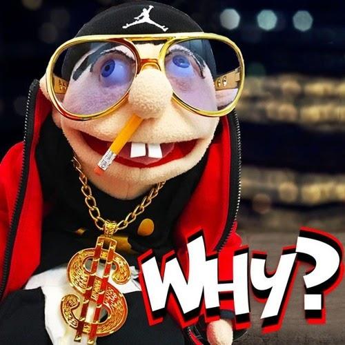 Jeefy Puppet Gaming Top Tee Youtuber Gamer Cartoon Vlogger Logan Cool Tshirt