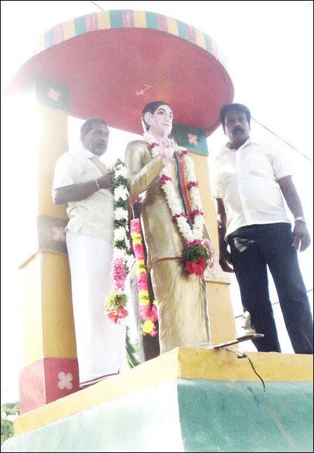 Thanthai Chelva statue re-opened
