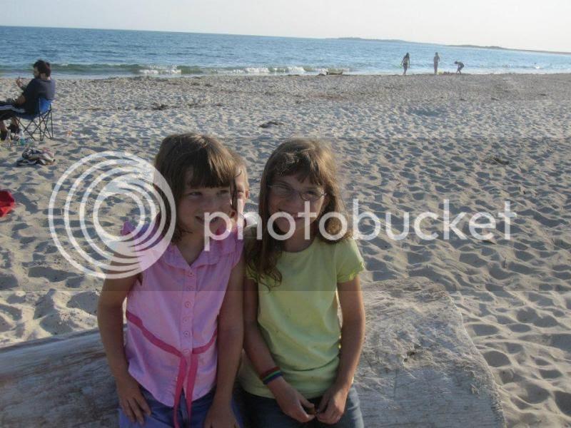 Jenna and Emma (Ryan is hiding behind them)