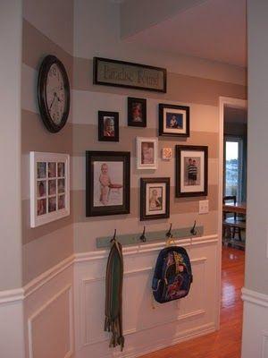 cute hallway decor