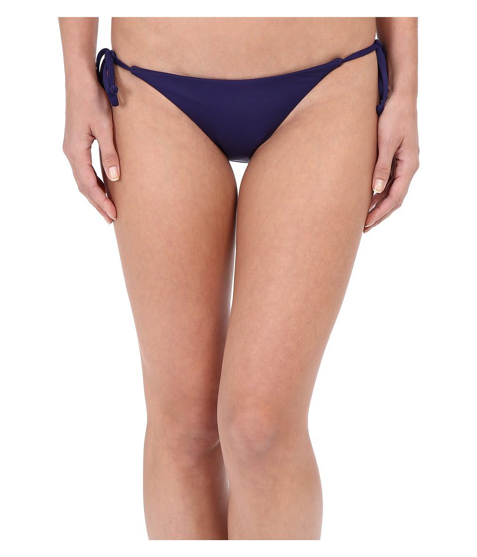 BECCA by Rebecca Virtue - Color Code Tie Side Bottom (Ink) Women's Swimwear