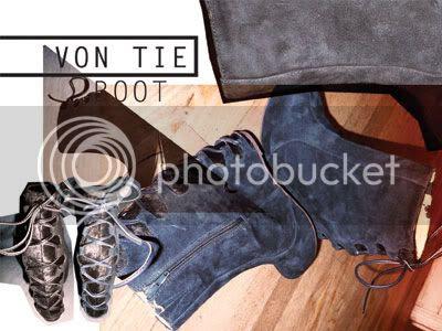Jeffrey Campbell LF Von Tie boot