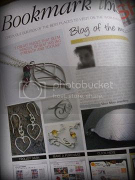 make and sell jewellery magazine dec 14 - silver moss blog
