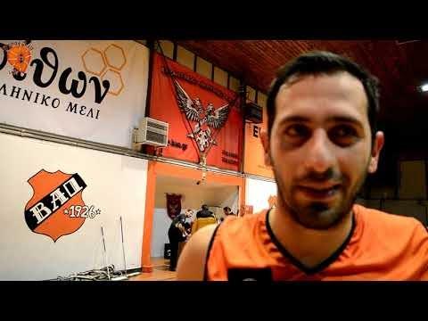 Τι δήλωσαν Καραγιαννίδης και Γουναρίδης μετά το τέλος του αγώνα ΒΑΟ-Κεραυνός Ωραιοκάστρου για το κύπελλο ΕΚΑΣΘ ανδρών