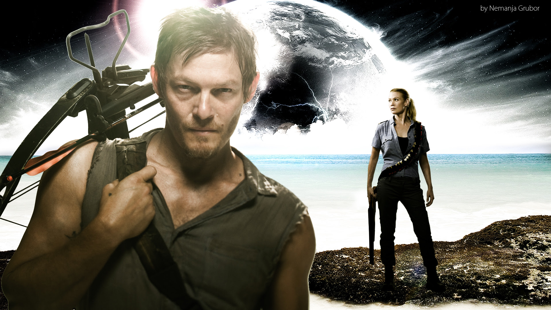 Daryl The Walking Dead Wallpaper 1920x1080 56740