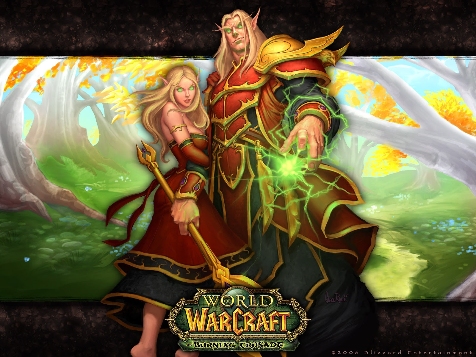World Of Warcraft Blood Elf Wallpaper Sf Wallpaper