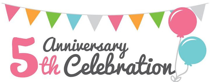 Image result for 5th anniversary celebration