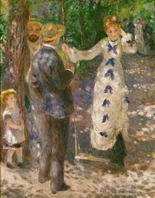 Renoir, La Balancoire, 1876