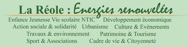 La Réole : Energies Renouvelées