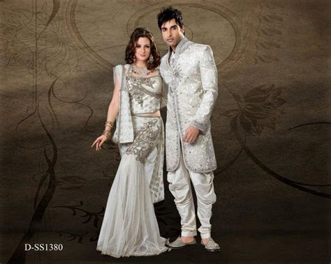 Wedding dress for bride and groom indian   All women dresses