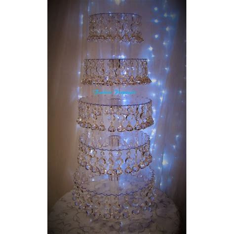 Sale Bling Cupcake Tower 6 tiers. Cupcake stand. Crystal