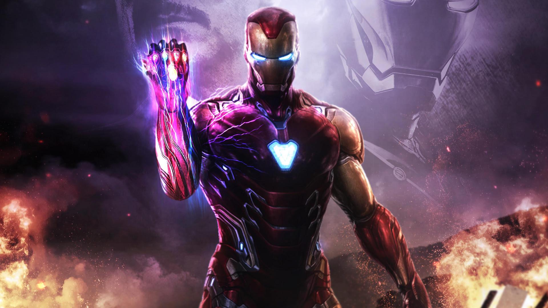 1920x1080 Iron Man Infinity Gauntlet 4k Laptop Full HD 1080P HD 4k Wallpapers, Images ...