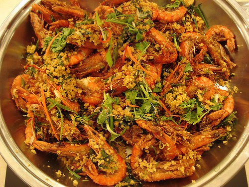 Cereal prawns for the taking!