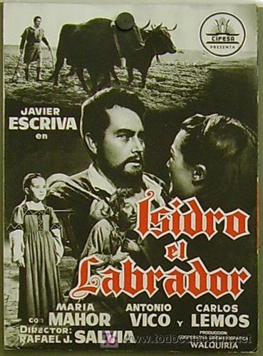 Resultado de imagen de película Isidro Labrador