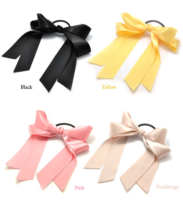 Paris Kids Ribbon hair ties