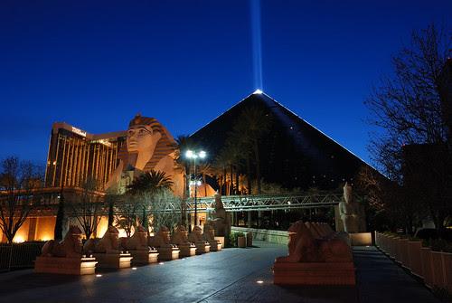 Luxor@Las Vegas  拉斯维加斯Luxor酒店