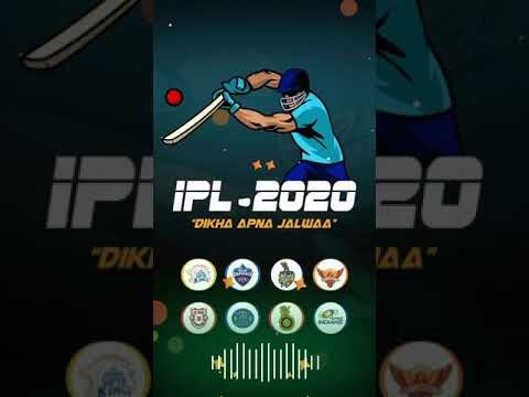 IPL 2020 Status Video Download | IPL 2020 Whatsapp Status | Full Screen