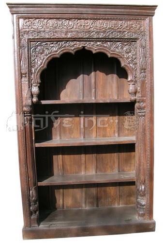 Old Door Frame Bookshelf Carved Frame Bookshelf Carved Bookrack