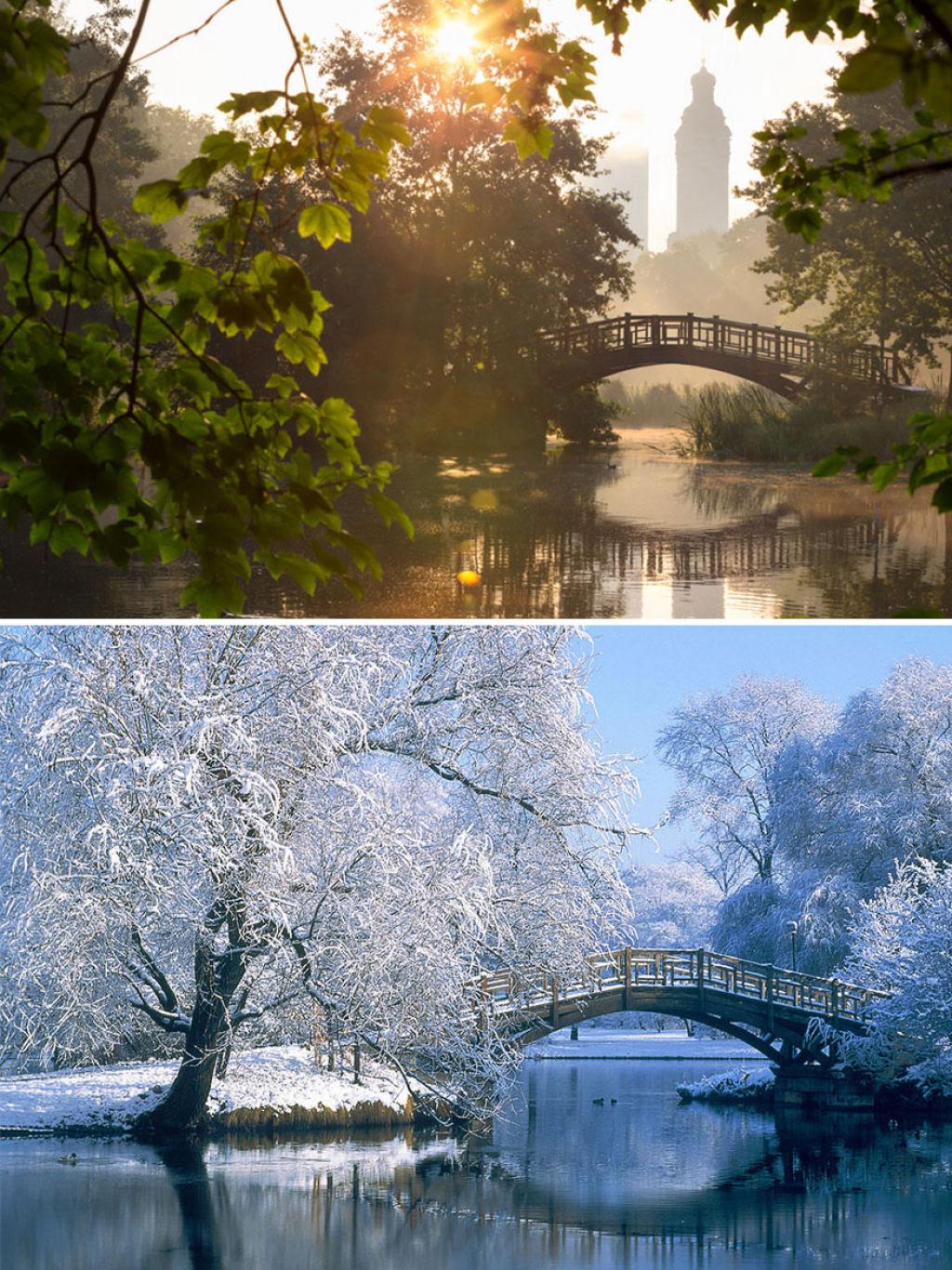 15 fotos de antes e depois da transformações invernais 11