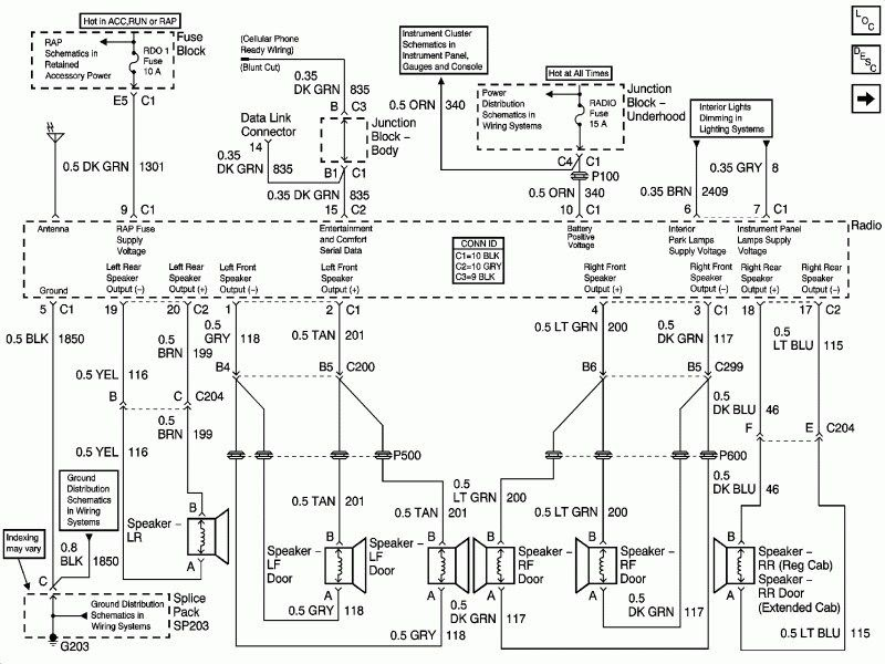 34 2001 Chevy Silverado Wiring Diagram Wiring Diagram