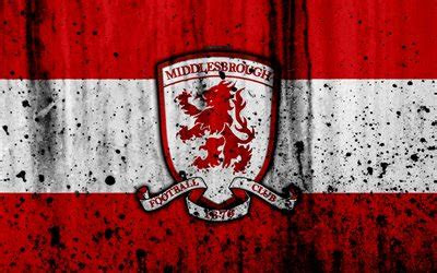 wallpapers  fc middlesbrough grunge efl