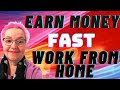 Earn Money Fast, Successful Solution Method Interview, Work At Home