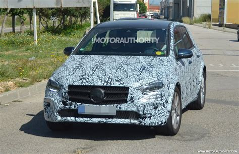 mercedes benz eqb spy shots