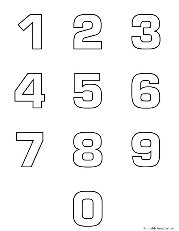 images of number 9 | Printable Number 9 Coloring Page | NUMBERS ...
