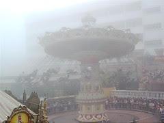 Misty theme park