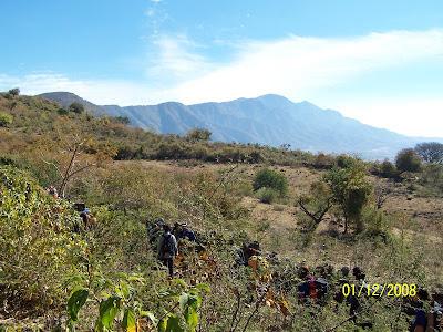 Cerro Viejo en Jalisco visto desde El Molino