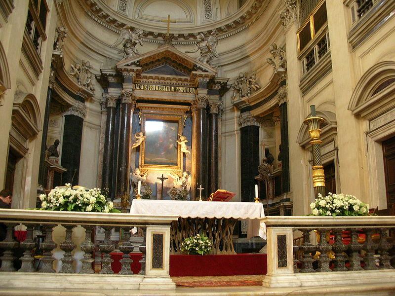 File:SantaMariaMontesanto-Altare01-SteO153.JPG