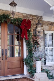 Cool Outdoor Front Door Hanging Christmas Decorations pictures