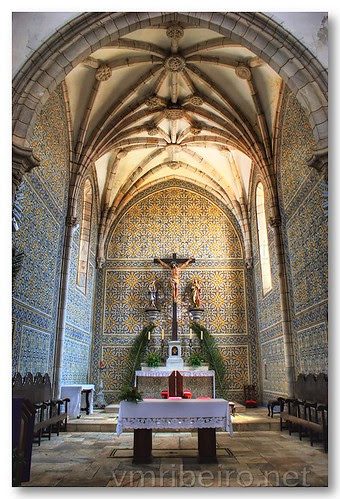 Capela-mor da Igreja de S. João Batista, Moura by VRfoto