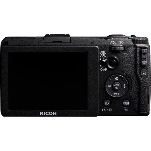Ricoh GR - Rear View