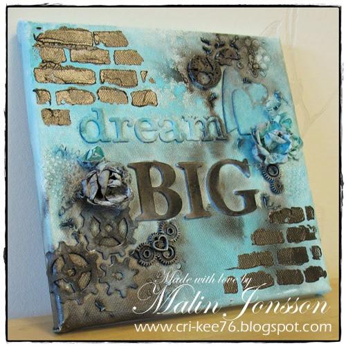 Canvastavla Dream Big 2