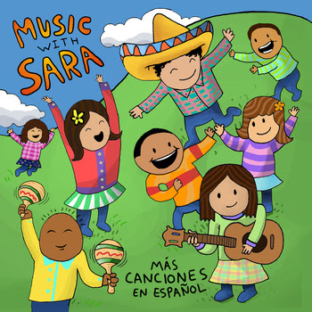Mas Canciones en Espanol - Music with Sara - Hispanic Heritage Month Blog Hop