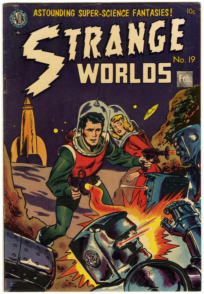 Strange Worlds #19 (Avon)