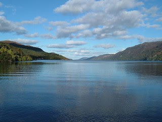 Loch Ness from Fort Augustus  Scotland