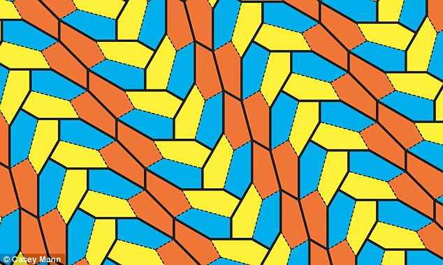 Three scientists have made maths history by finding a new type of pentagon that can tile a floor without overlapping or leaving any gaps. It's what researchers call 'tiling the plane' and their discovery is only the 15th type of non-regular pentagon that can do this, with the last one found 30 years ago