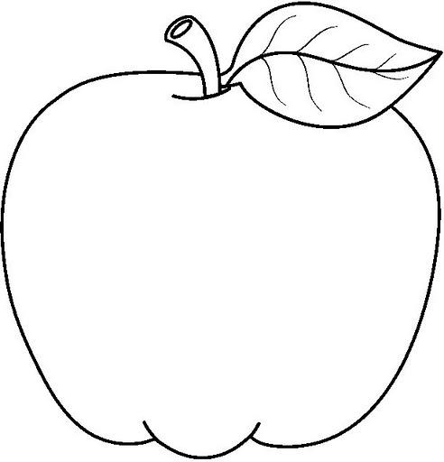 Dibujos De Manzanas Para Colorear Las Manzanas