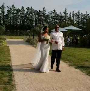 Billionaire's Daughter, Mairama Indimi And Husband Wed In France (Pics)
