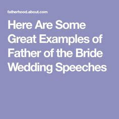 father   bride speech inspiring speeches