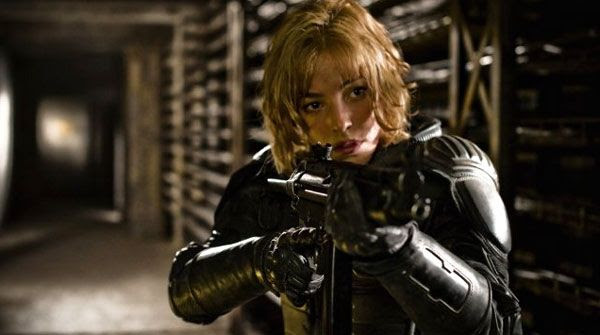 Olivia Thirlby as Anderson in DREDD 3D.