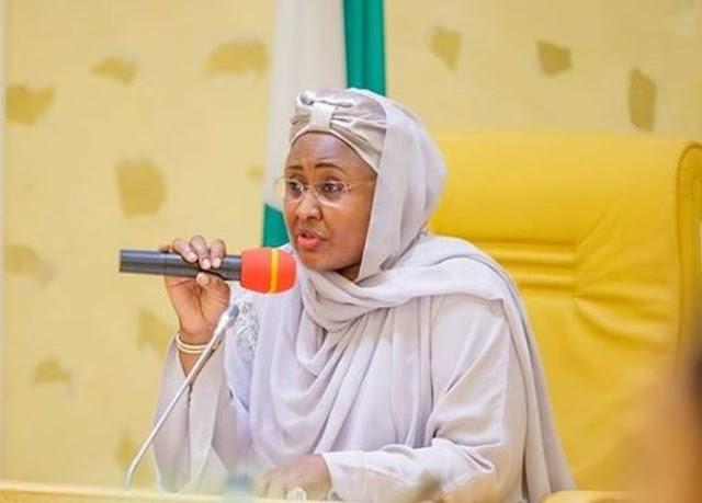 Nigerians React As Aisha Buhari Jets Out To Dubai To Treat Neck Pain